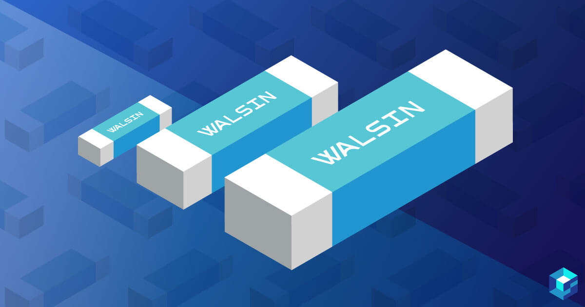 Graphic with Walsin UF series mlcc on it; read more and procure components today at Sourcengine.