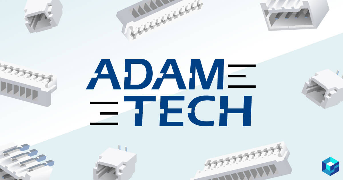 Adam Tech Connectors are now available on Sourcengine. Take a look at their portfolio now on the world's largest e-commerce marketplace for electronic components.