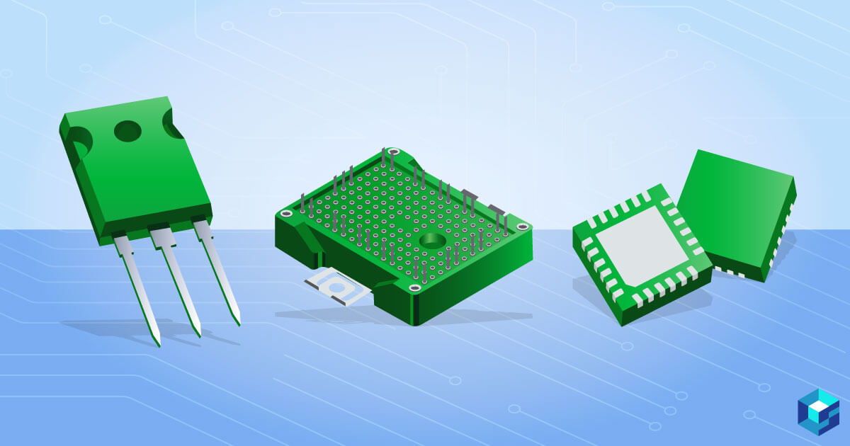 Four wide bandgap silicon carbide devices. Learn more about buying options for these components at Sourcengine.