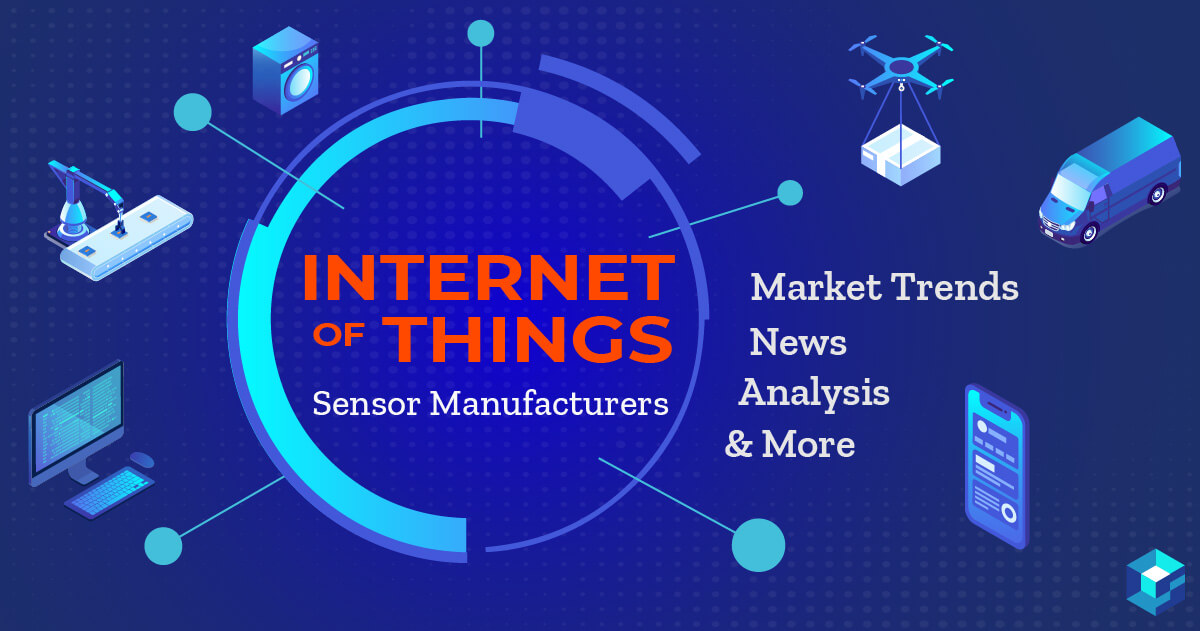 Image with Internet of Things, Market Trend News printed on it. Procure parts for your next IoT development at Sourcengine.