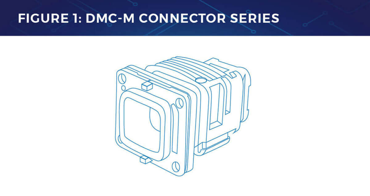 TE connectivity dmc-m series in-flight entertainment connector