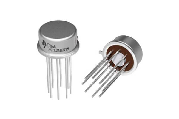 Texas Instruments LM741H operational amplifier