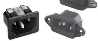 AdamTech ac inlet & outlet power connectors