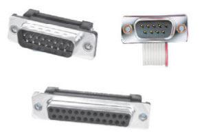 AdamTech d-subminiature idc-flat cable connectors