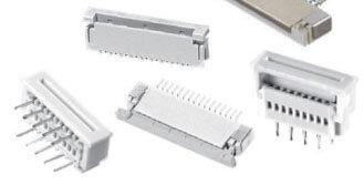 AdamTech flex circuit connector zif type
