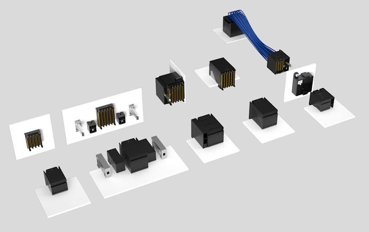 Samtec examax series connectors
