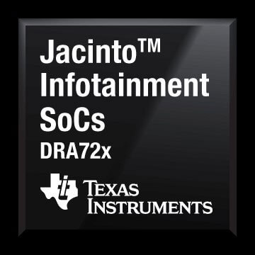 DRA726 texas instruments processors
