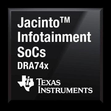 Texas Instruments DRA74x processor for smart driving solutions