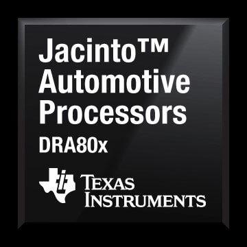 Texas Instruments DRA80x processor for smart driving solutions