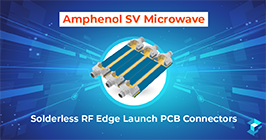 Graphic with Amphenol connector on it and wording for SV Microwave; read more at Sourcengine.