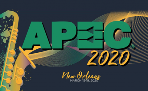 APEC 2020 logo; read about its cancellation here at Sourcengine.