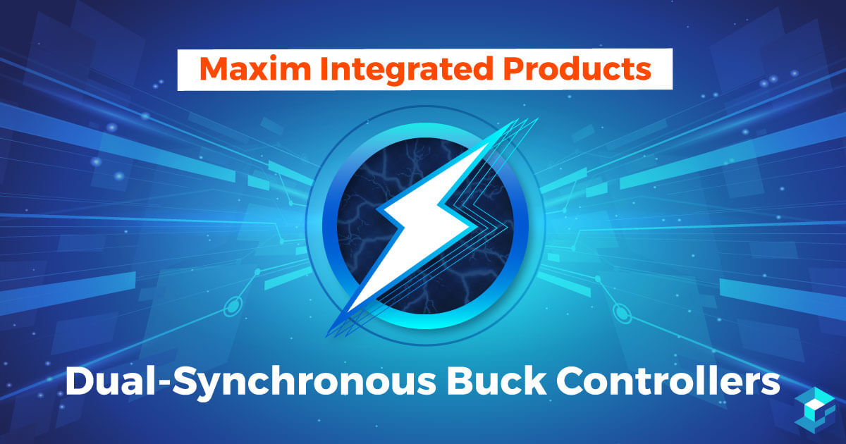 Image with Maxim Integrated printed on it; Sourcengine carries this company's components on its e-commerce platform.