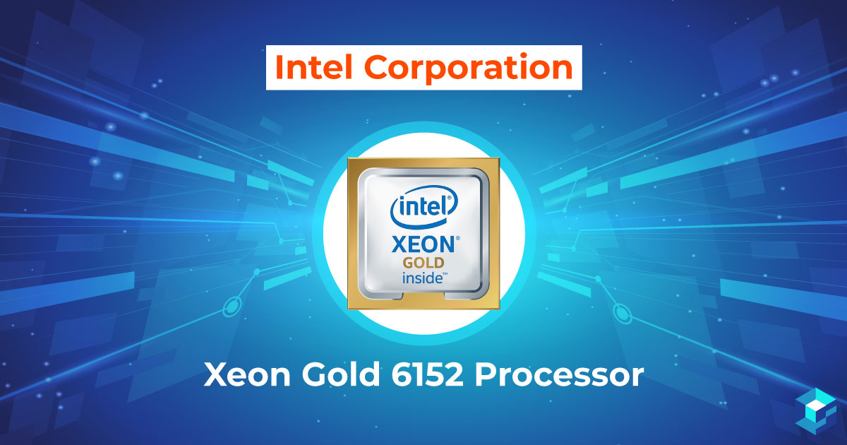 Image with Intel Xeon Gold 6 Processor typed on it. This and other microprocessors are available at Sourcengine, the largest e-commerce marketplace for electronic components.
