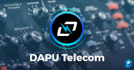 Image with Dapu Telecom written on it. Learn more about Dapu's business and component offerings here at Sourcengine.
