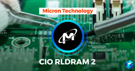 Image with Micron Technology CIO RLDRAM 2 written on it. Sourcengine carries stock and availability data on RLDRAM; upload your BOM today to get pricing.