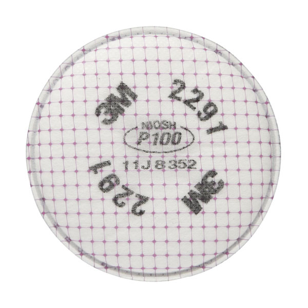 2291, P100 face mask filter; for this and other maintenance, repair and operations equipment, see Sourcengine.