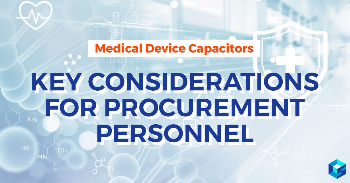 Image has key considerations for procurement personnel written on it. Find out more on Sourcengine. Search for components as well as categories.
