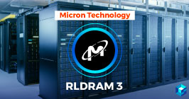 Micron RLDRAM 3 written on set of internet servers. Learn more about what Micron can do for your company at Sourcengine.