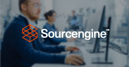 Supply chain professionals using computers to order electronic components on Sourcengine.