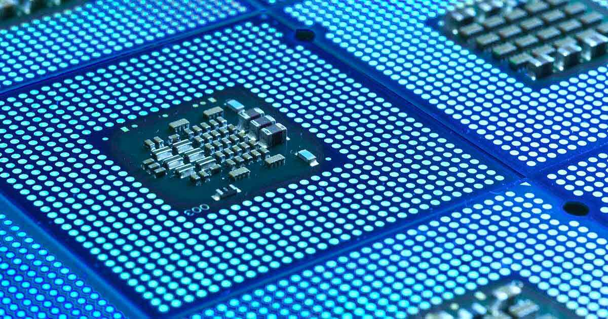Picture of a microchip; crosses and alternates look to be the answer to this shortage problem right now. Search sourcengine.com for more.
