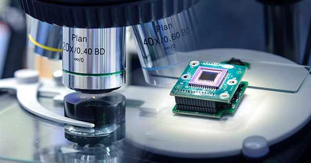 Semiconductor under a microscope - Sourcengine